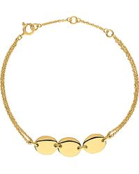 Links of London | Metallic Grace 3 Station Bracelet | Lyst