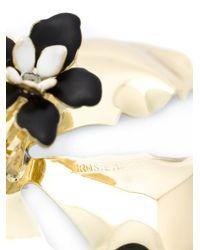 Rosie Assoulin | White Oversized Enamel Flower Earrings | Lyst