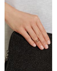 Arme De L'Amour - Pink Connect 3 Rose Gold-Plated Phalanx Ring - Lyst