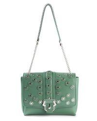 Paula Cademartori | Green Alice Calf-Leather Shoulder Bag | Lyst
