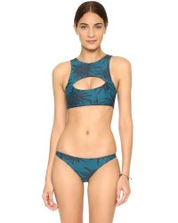 Mikoh Swimwear - Blue Miyako Bikini Bottoms - Lyst