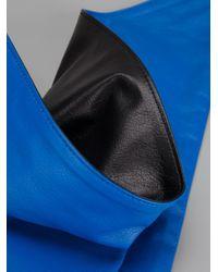 Ambush   Blue Leather Bandana   Lyst
