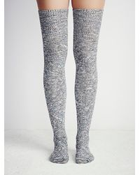 Free People | Gray Pioneer Ii Thigh High | Lyst