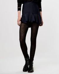Maje - Blue Skirt - Gourmand - Lyst