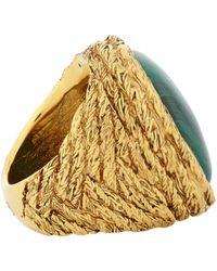 Aurelie Bidermann - Green Miki Ring Size 6 - Lyst