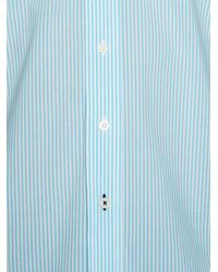 Raging Bull | Blue Candy Stripe Long Sleeve Button Down Shirt for Men | Lyst