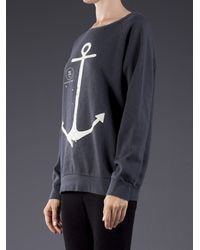 BLK OPM - Gray Anchor Sweater - Lyst