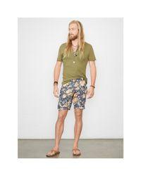 Denim & Supply Ralph Lauren - Multicolor Floral Cotton Poplin Short for Men - Lyst