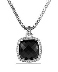 David Yurman | Metallic Albion Pendant With Black Onyx Diamonds | Lyst