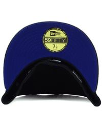 KTZ - Black Milwaukee Brewers Mlb Team Python 59Fifty Cap for Men - Lyst