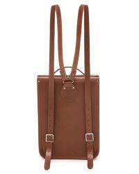 Cambridge Satchel Company - Brown Portrait Backpack - Lyst