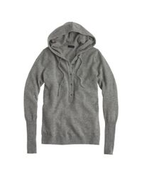 J.Crew | Gray Collection Cashmere Getaway Hoodie | Lyst