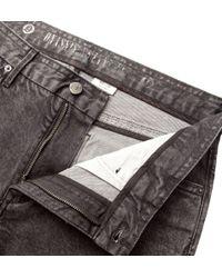 Onassis Clothing | Gray Skinny Fit Marled Denim for Men | Lyst
