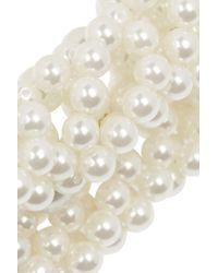 Simone Rocha - White Faux Pearl Necklace - Lyst