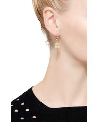 Eddie Borgo - Pink French Clip Estate Day Drop Earring - Lyst