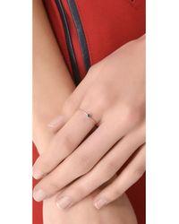 Blanca Monros Gomez | Metallic Sapphire Seed Ring | Lyst