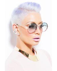 AKIRA   Metallic Princess Jasmine Choker - Gold   Lyst