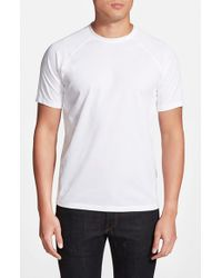 Vince Camuto | White Raglan Sleeve T-Shirt for Men | Lyst
