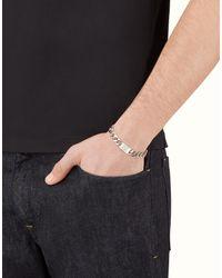 Fendi | Gray Bracelet Bracelet for Men | Lyst