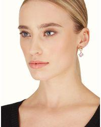 Fendi - Natural Crystal Earrings - Lyst