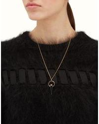 Fendi - Black Rainbow Necklace Rainbow Necklace - Lyst