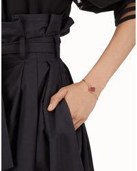 Fendi - White Bracelet Bracelet - Lyst