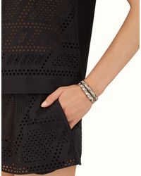 Fendi - Black Bracelet - Lyst