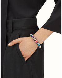 Fendi - Multicolor Rainbow Bracelet Rainbow Bracelet - Lyst