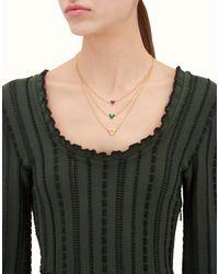 Fendi - Metallic Rainbow Necklace - Lyst