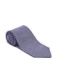 Ferragamo Blue Cocktail Glass Printed Tie for men