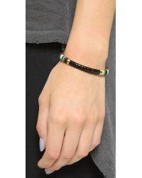 Gas Bijoux | Massai Snakeskin Bracelet - Black Multi | Lyst