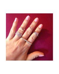 Henri Bendel - Metallic Luxe Nail Midi Ring Set - Lyst
