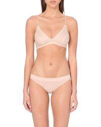 Hanro | Natural Seamless Soft-cup Bra | Lyst