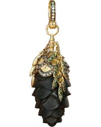Annoushka | Metallic Mythology 18ct Yellow-gold And Diamond Pinecone Amulet Pendant | Lyst