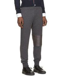 Moncler Gamme Bleu - Gray Grey Lounge Pants for Men - Lyst