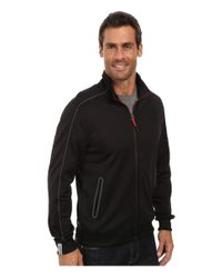 PUMA - Black Bomber-jacket Backpack - Lyst