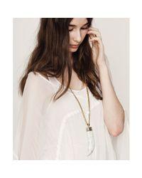 Jenny Bird | White Wildland Necklace - Large | Lyst