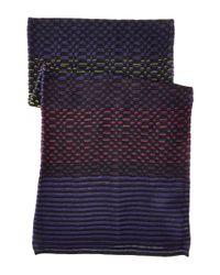 M Missoni | Multicolor Gradiant Geo Stripe Scarf | Lyst