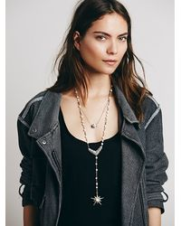 Free People | White Womens Double Layer Rosary | Lyst