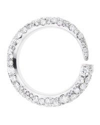 Finn - White Gatsby Horn Ring - Lyst