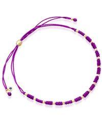 Biography | Purple Dream Skinny Bracelet | Lyst