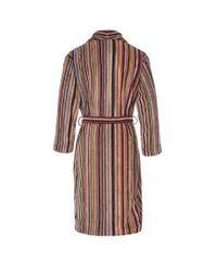 Paul Smith | Multicolor Men's Signature Striped Towelling Dressing Gown for Men | Lyst