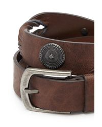 Forever 21 | Brown Concho Bead Braided Belt | Lyst