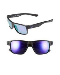 Nike | Black 'mavrk R' 59mm Sunglasses for Men | Lyst