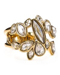 Alexis Bittar | Metallic Miss Havisham Starlight Marquis Cluster Band Ring | Lyst