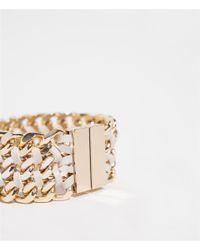 Zara | Natural Chains Bracelet | Lyst