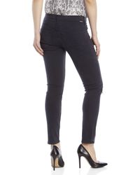 Mother - Blue The Muse Destroyed Ankle Jeans - Lyst