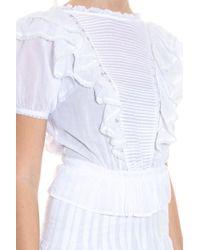 Étoile Isabel Marant - White Naoko Dress - Lyst