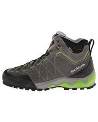SCARPA - Gray Tech Ascent Gtx for Men - Lyst