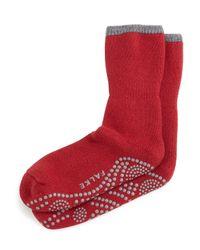 Falke - Red Cuddle Pad Socks for Men - Lyst